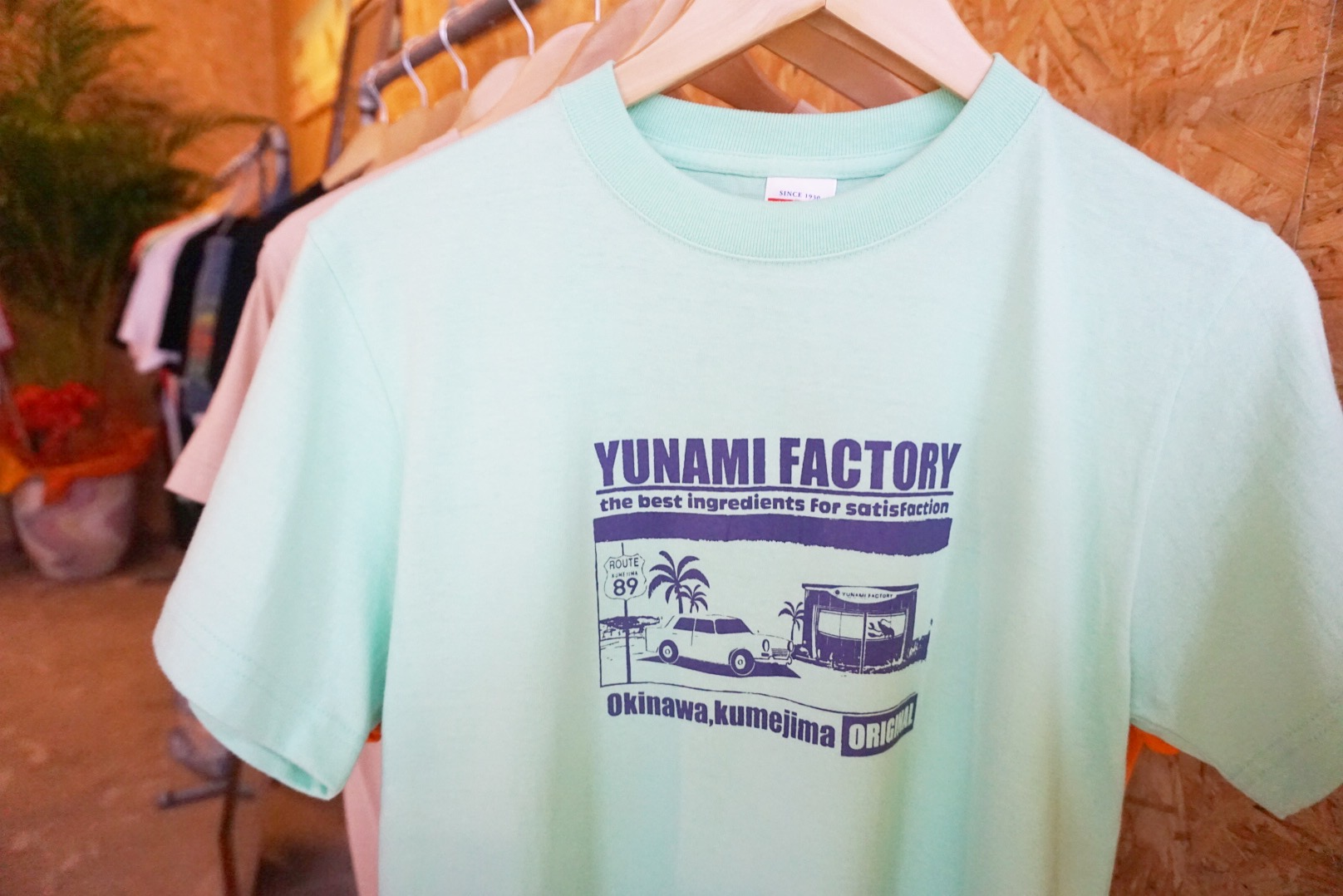 YUNAMI FACTORYオリジナルTシャツ