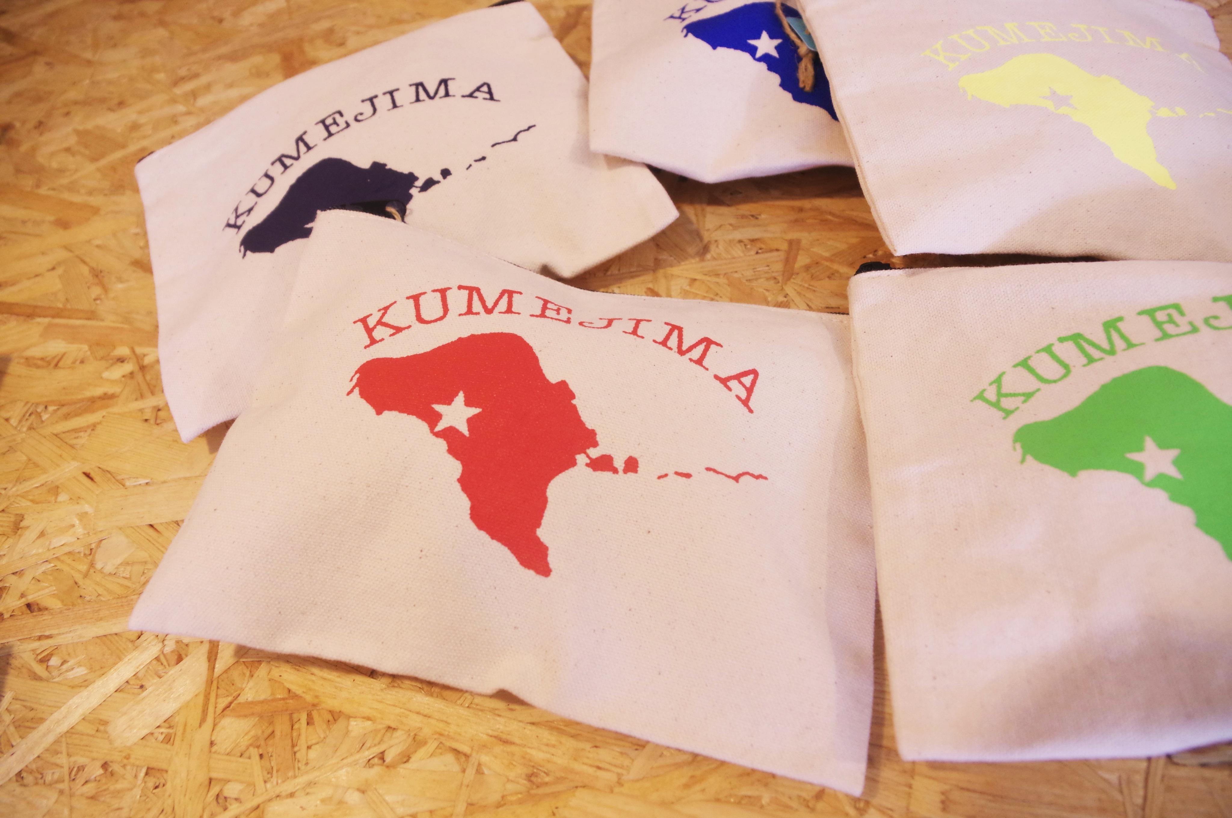 kumejima shirtsオリジナルポーチ