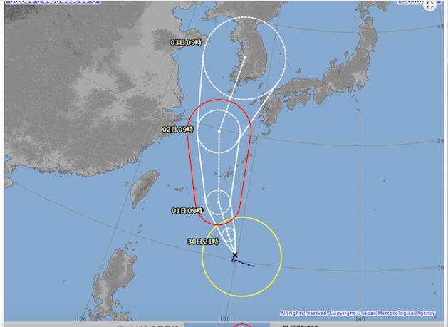 沖縄台風あるある