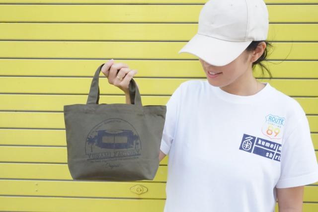 【秋冬カラー30枚限定】kumejima shirts オリジナルバッグ
