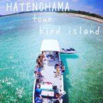 久米島でおすすめのはての浜ツアー『バードアイランド』