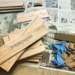 DIYでオリジナル木箱を作ってみた。お店や事業所にオススメです。