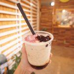 タピオカ店YUNAMI FACTORY BOBA 本日より通常営業時間に戻ります。2:00pm-6:00pm