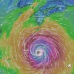 またまた台風。台風10号